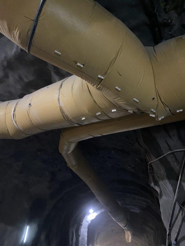 Ventiflex dukrør Bergensbanen